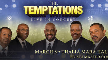 None - The Temptations in Jackson, March 8th!