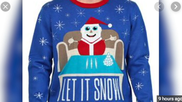 Qui West - Walmart Apologizes For Sweater Showing Santa Claus With Lines Of Cocaine!