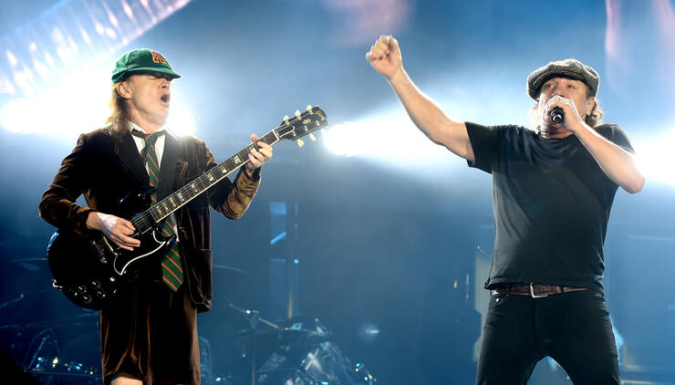AC/DC's 'Back In Black' Album Gets Certified 25-Times Platinum | iHeartRadio