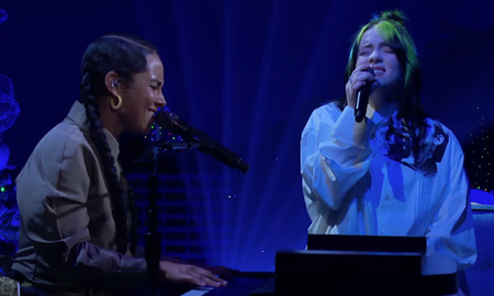 Entertainment News - Billie Eilish & Alicia Keys' 'Ocean Eyes' Duet Is What Dreams Are Made Of