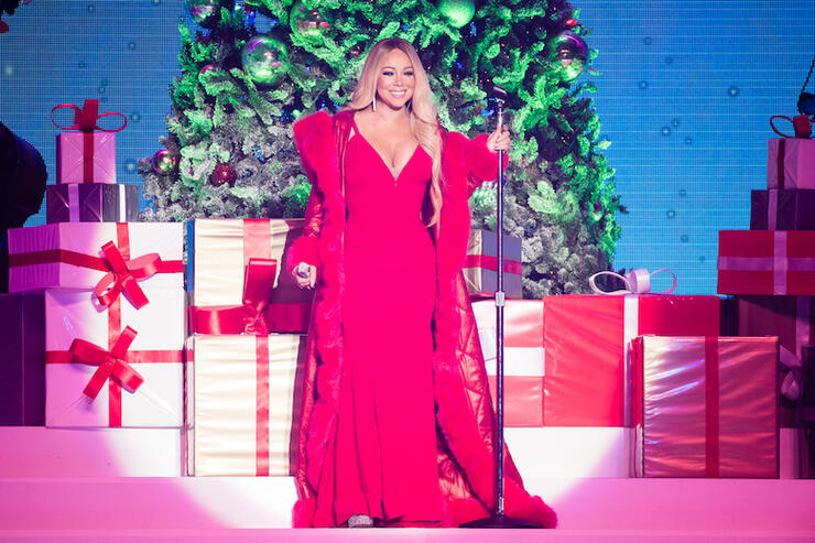 Mariah Carey Performs At The Motorpoint Arena Nottingham