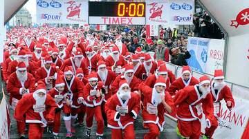 Rick Lovett - Santa Hustle 5K & Half Marathon In Galveston