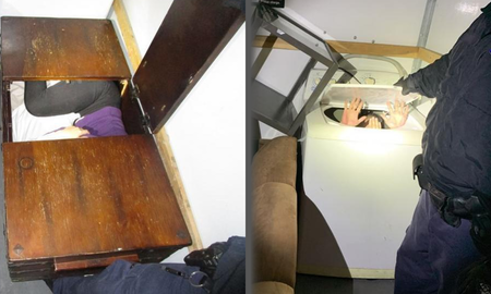 National News - Eleven Chinese Nationals Discovered Inside Furniture While Crossing Border