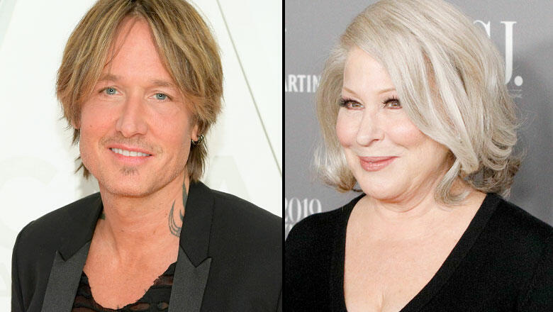 Keith Urban Teams Up With Bette Midler For Advice