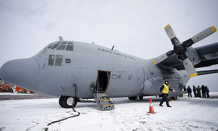 National News - Air Force Plane Carrying 38 People Goes Missing On Way To Antarctica