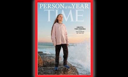 National News - Greta Thunberg Named TIME's 2019 'Person of the Year'