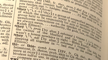 National News - 'They' Named Word of the Year By Merriam-Webster Dictionary