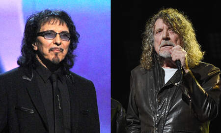 Rock News - Tony Iommi, Robert Plant Spotted Chatting At Nashville Airport