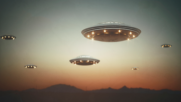 Weird News - UFO Filmed Dropping Other UFOs Over Arizona