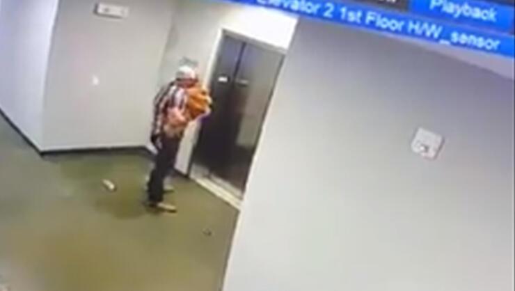 Texas Man Saves Dog After Its Leash Gets Stuck In Elevator Door   iHeartRadio