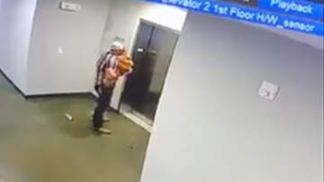 National News - Texas Man Saves Dog After Its Leash Gets Stuck In Elevator Door