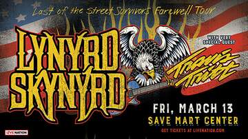 None - Lynyrd Skynyrd At The Save Mart Center March 13, 2020