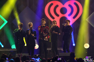 Why Don't We Performs At Q102 Jingle Ball