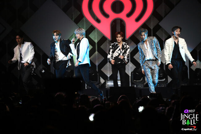 Monsta X @ Q102 Jingle Ball
