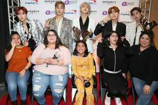 PHOTOS: Monsta X Meet & Greet @ Q102 Jingle Ball