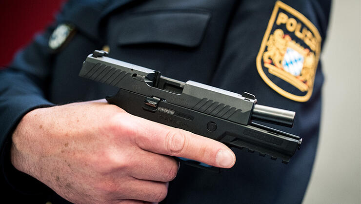 New service pistol for the Bavarian police