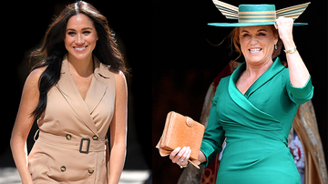 Entertainment News - Sarah Ferguson Defends Meghan Markle Amid Royal Family Drama