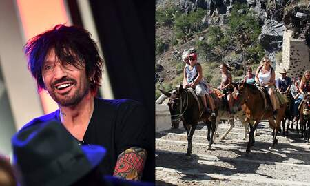 Rock News - Greece Vows To Protect Santorini Donkeys Following Tommy Lee's Letter