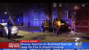 Chris Michaels - Woman Watches Ex-Boyfriend Set Her Jeep On Fire In Grand Crossing