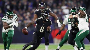 None - Lamar Jackson Leads Ravens Past Jets On Thursday Night Football