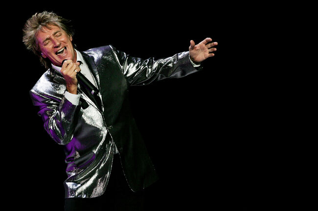 Rod Stewart Plays Sydney