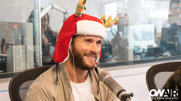 Ryan Seacrest - Scott Eastwood Surprises Us With Christmas Presents From His Clothing Line!