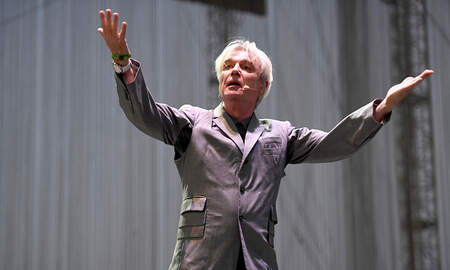 Christie James -  David Byrne Dismisses Talking Heads Reunion Rumors