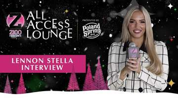 Z100's Jingle Ball - Lennon Stella Has A Post-'World War Joy' Tour Hangover