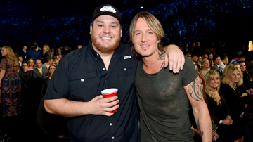 iHeartCountry - Luke Combs Brings Out Keith Urban, Thomas Rhett At Sold-Out Nashville Show