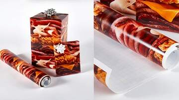 Mathew & Priscilla In The Morning - Arby's Now Selling Meat- Printed Wrapping Paper Just In Time For Christmas