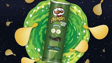 Mathew & Priscilla In The Morning - There's A Special Edition 'Pickle Rick' Pringles Coming To Stores