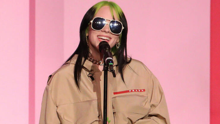 Billie Eilish Thanks Women Who Paved The Way For Her In Billboard Speech | iHeartRadio
