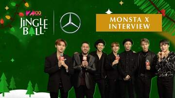 Z100's Jingle Ball - Monsta X Reveal Their Current Favorite Song To Perform