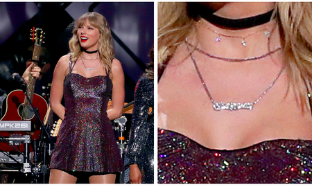 Entertainment News - What Does Taylor Swift's 2019 Jingle Ball Necklace Say? Internet Reacts
