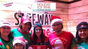 Photos - Martha Quinn's 80's Listener Party @ Safeway Holiday Ice Rink SF 12.13.19
