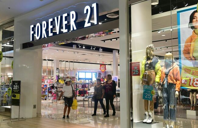 Forever 21 Set To Close 12 Stores In Southern California
