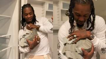 Weekends - WATCH: Cardi B Surprises Offset with $500K in Refrigerator for Birthday