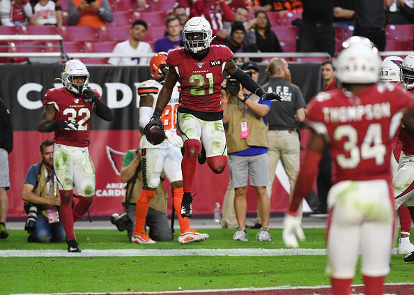 Cardinals Outduel Browns in Arizona 38-24