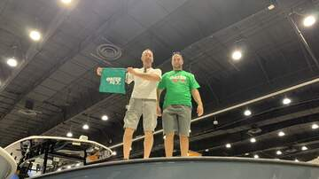 Photos - Hanging out at The Palm beach Boat Show !