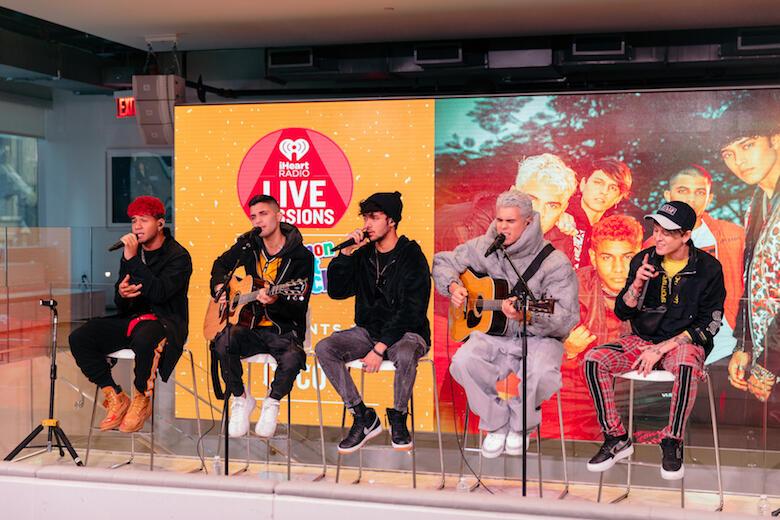 CNCO Gives Exclusive Performance & Talks New EP 'Que Quienes Somos'