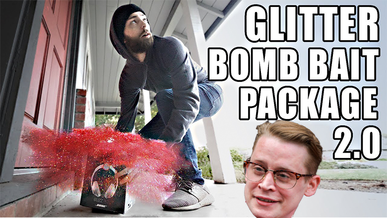Former NASA engineer thwarts porch pirates again with 'Glitter Bomb 2.0'