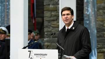 Florida News - U.S. Sec. Of Defense Mark Esper In Florida