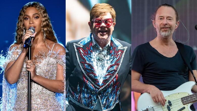 Thom Yorke, Beyonce & Elton John Make Oscars' Best Original Song Shortlist