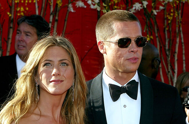 Brad Pitt And Jennifer Aniston Celebrated The Holidays Together