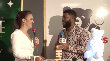Jingle Ball - Elizabethany Interviews Khalid at Our 2019 #HOT995JingleBall!