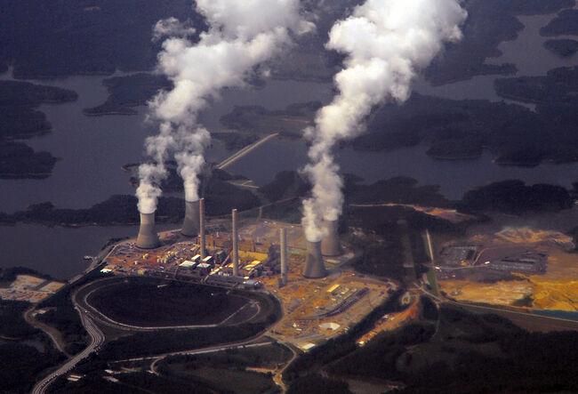 Georgia Power's coal-fired steam-turbine