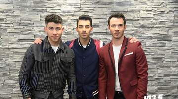 Jingle Ball - Jonas Brothers Meet & Greet Photos
