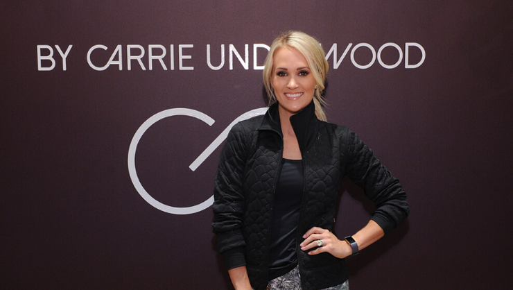 Carrie Underwood Reveals Cover Of Her New Fitness Book Coming In 2020