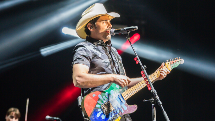 Brad Paisley Is Taking His 'Elf On The Shelf' To The Next Level