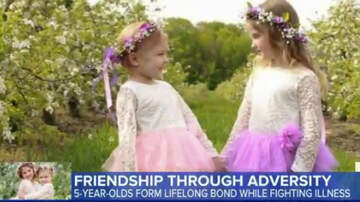 Conrad - 'GMA' makes a wish come true for a pair of 5-year-old W. Mich best friends